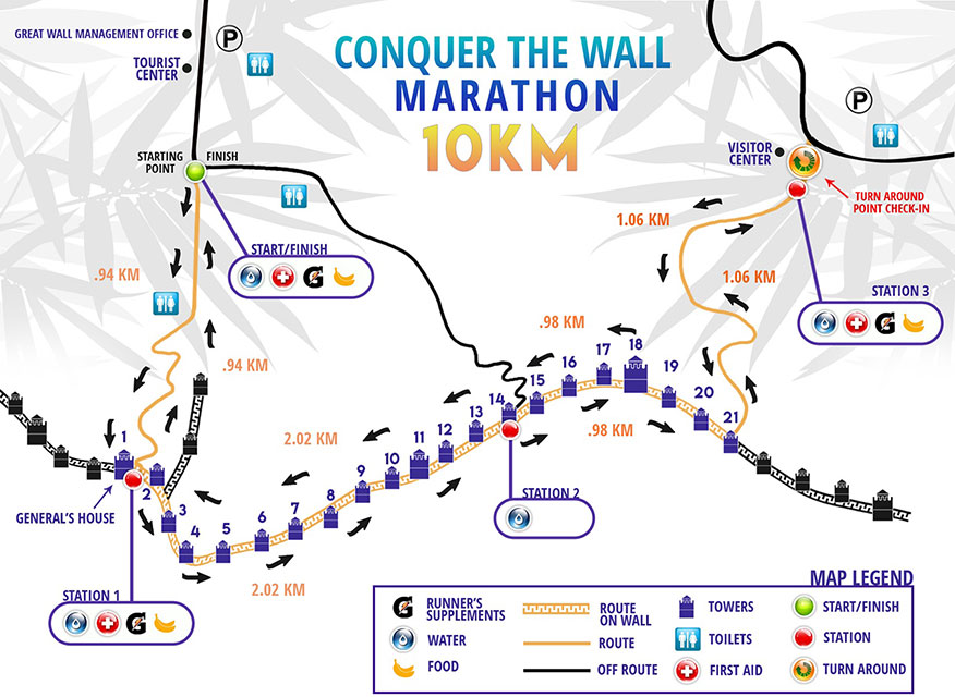 Course map - 10K